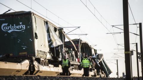 Залізнична аварія у Данії – 6 загиблих