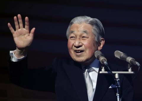 Імператор Японії, який відрікся від трону, виступив з останнім новорічним привітанням