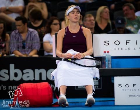 Еліна Світоліна не пробилася до чвертьфіналу тенісного турніру у Брісбені