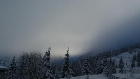 Висота снігового покриву в Карпатах сягнула метра