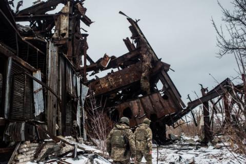Бойовики в ООС тричі обстріляли позиції українських захисників