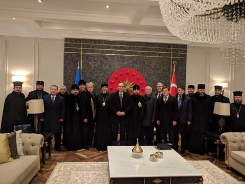 Томос: українські ієрархи та урядовці вже у Стамбулі