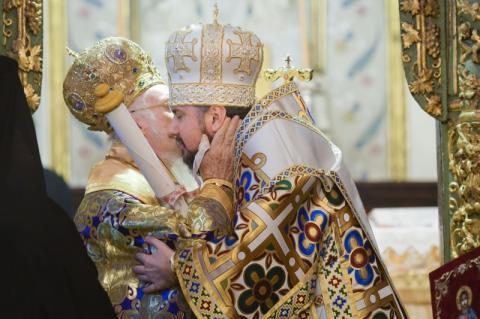 Президент у Стамбулі взяв участь в урочистому врученні Томосу про автокефалію Православної Церкви України
