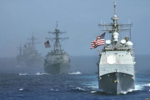 Військовий корабель США увійшов у Чорне море
