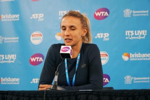 Тенісистка Леся Цуренко: Я розчарована, але задоволена своїм рівнем гри