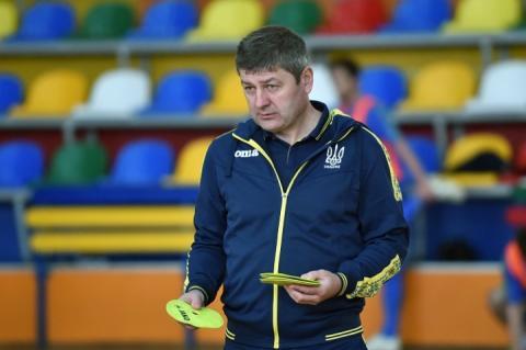 Тренер збірної України з футзалу Олександр Косенко окреслив плани на 2019 рік