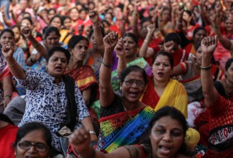 В Індії поширюються протести: до акцій приєдналися понад 200 млн людей