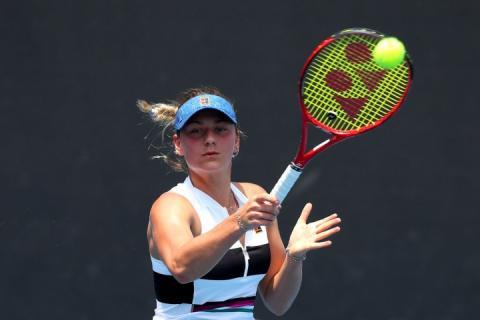 Марта Костюк програла фінал кваліфікації тенісного турніру Australian Open-2019