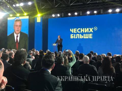 Кандидат в президенти Гриценко пообіцяв обрубувати руки