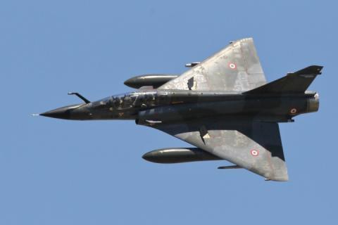 У Франції підтвердили загибель двох пілотів винищувача Mirage 2000D