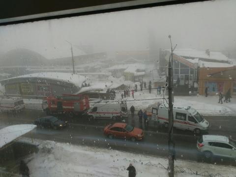 В окупованій Макіївці обвалився дах ринку: кількість постраждалих невідома