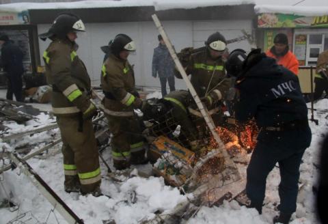 В окупованій Макіївці обвалився дах торгового ряду: є постраждалі