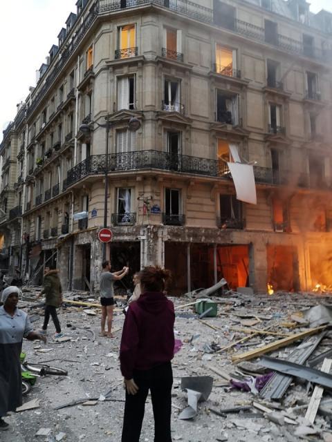 У центрі Парижа прогримів потужний вибух: є постраждалі