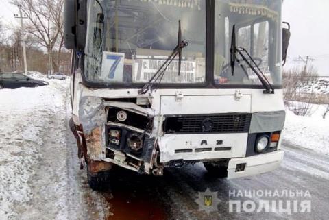 На Донеччині у ДТП з рейсовим автобусом загинула сім'я