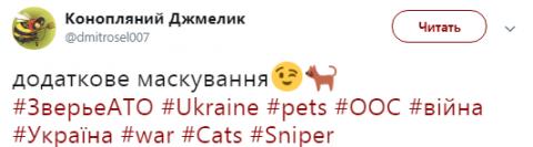 У мережі показали зворушливе фото українського снайпера на Донбасі