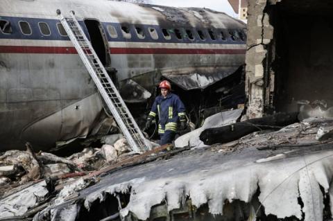 Внаслідок авіакатастрофи в Ірані загинуло семеро людей