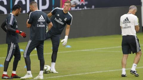 «Реал» хоче цієї зими повернути воротаря збірної України Луніна з оренди
