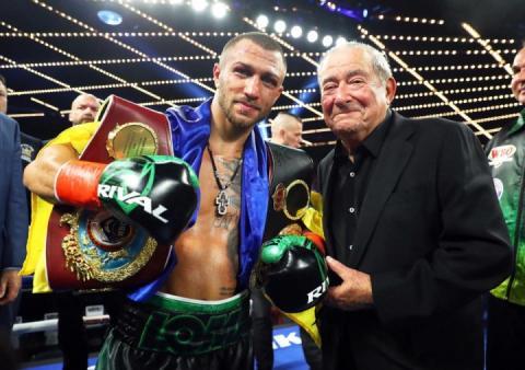 Василь Ломаченко наступний бій проведе 12 квітня в Лос-Анджелесі