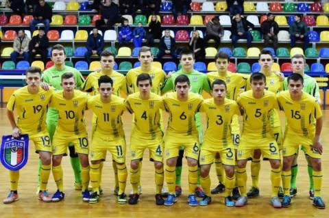 Названо склад юніорської збірної України з футзалу на матчі з угорцями