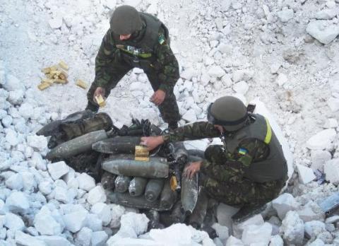На Донбасі очистили від мін близько 45 гектарів