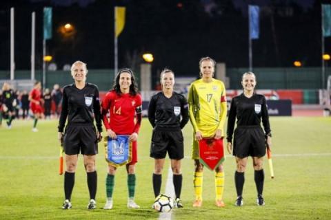 Жіноча збірна України з футболу програла Португалії у другому товариському матчі