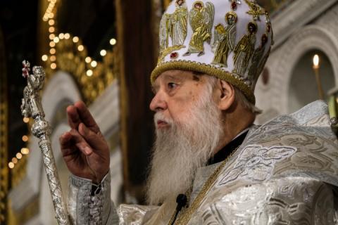 У Києві почалася спільна молитва за патріарха Філарета