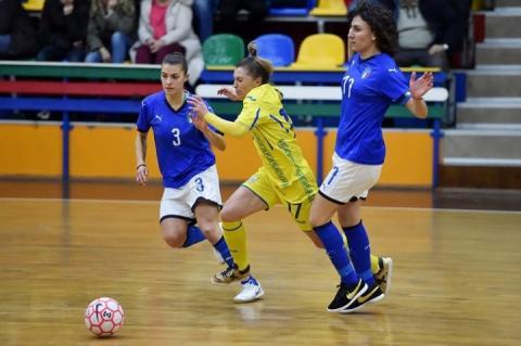 Жіноча збірна України з футзалу програла італійкам у першій товариській грі