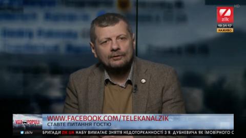 Сильна й заможна країна, – Мосійчук назвав свій рецепт повернення Криму та Донбасу