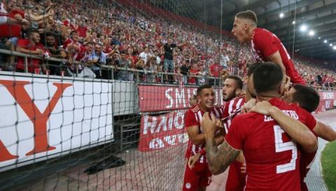 У Греції продано усі квитки на матч Ліги Європи «Олімпіакос» – «Динамо»