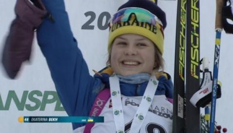 На юніорському ЧС-2019 з біатлону Катерина Бех виграла «золото» у спринті