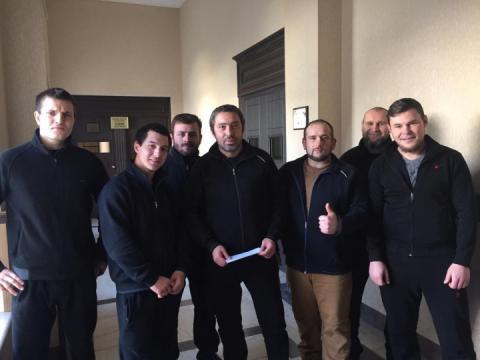 Суд в Тбілісі відпустив під заставу затриманих екс-бійців батальйону «Донбас»