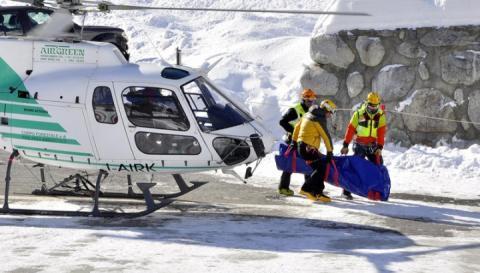 Під лавинами в Альпах загинуло десятеро людей