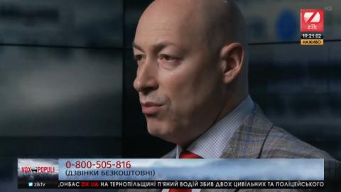 Дмитро Гордон: Я не Карабас-Барабас, я ніхто, щоб мати свого кандидата