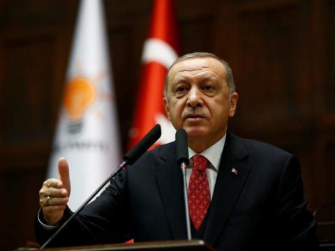 Ердоган заявив, що Туреччина не змінить позицію щодо Сирії навіть у разі санкцій