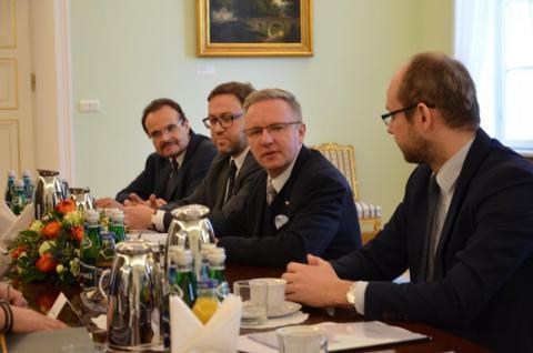 На засіданні Консультаційного комітету Президентів України та Польщі обговорили актуальні питання українсько-польських відносин, європейського та міжнародного порядку денного