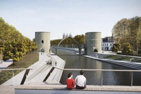 Бельгійське місто вирішило знести міст XIII століття, щоб полегшити прохід кораблів