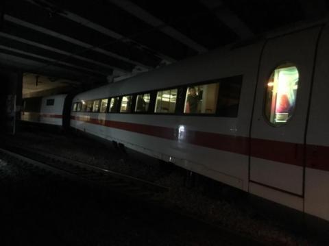 У Швейцарії зійшов із рейок пасажирський потяг з Німеччини