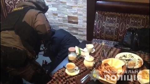 """Сходку """"авторитетів""""на чолі з грузином накрили у Києві"""