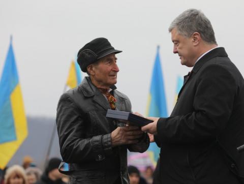 В час, коли європейські політики сподівалися умиротворити агресора, українці першими гордо і мужньо заявили про свої права – Президент вшанував пам'ять героїв Карпатської України