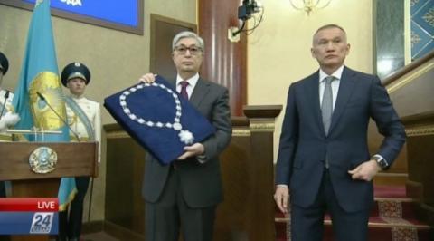 Токаєв очолив Казахстан і запропонував перейменувати столицю