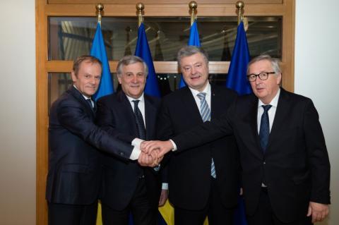 Президент взяв участь у міні-саміті Україна-ЄС