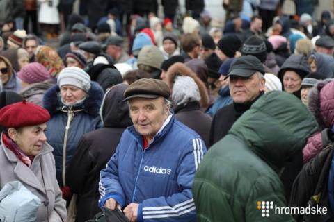Нацкорпус у Києві: Білецький звинуватив СБУ через алкоголіків на акції