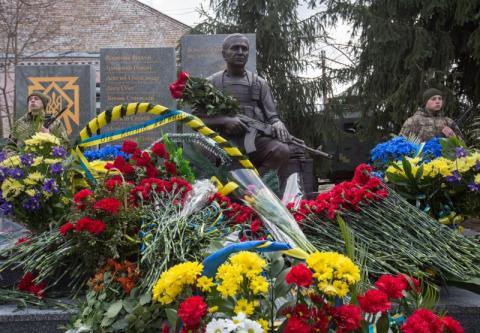Наш шлях до миру – це шлях єднання - Марина Порошенко під час відкриття пам'ятника воїнам-учасникам АТО/ООС Переяславщини