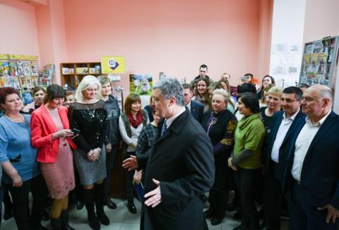 Глава держави у Дрогобичі перевірив виконання доручення щодо забезпечення діяльності відділень «Укрпошти» у сільській місцевості