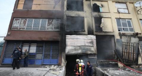 Під час пожежі в покинутому будинку в Анкарі загинули 5 людей