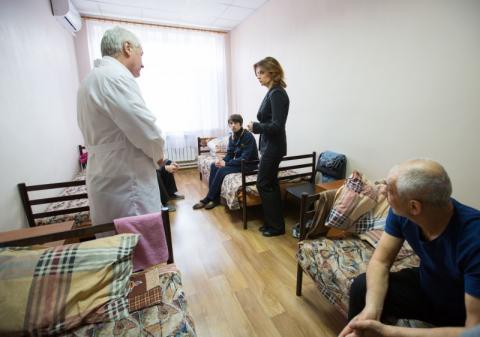 Марина Порошенко: На Луганщині активно розвивається інфраструктура та відроджується соціальний захист людей