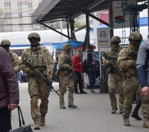Спецпідрозділ СБУ долучили до патрулювання вулиць і транспортних вузлів