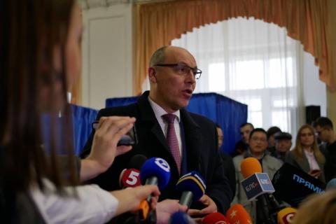 Парубій проголосував і назвав важливе вміння свого кандидата
