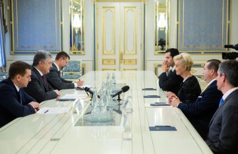 Президент України зустрівся з вдовою сенатора США Джона Маккейна