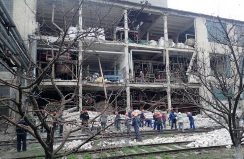 На заводі у Лисичанську стався вибух, є загибла